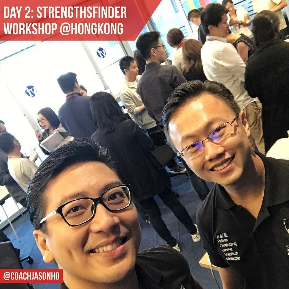 Day 2 - StrengthsFinder Workshop in HongKong with Singapore Gallup Certified Coach Gideon Ren