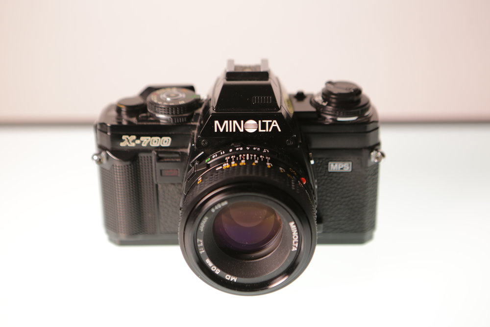 photo of a minolta x700