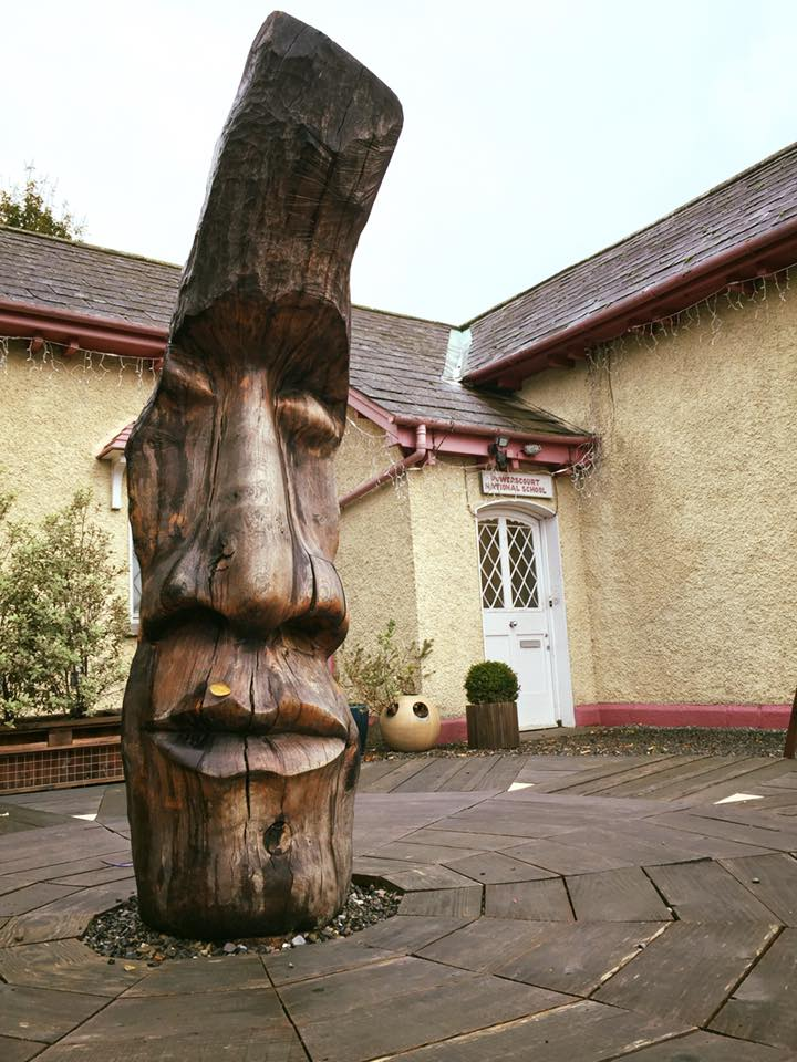 Wood Sculpture by Conleth Gent