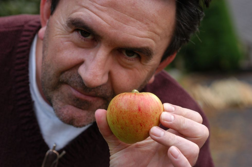 the artist and the apple - both homegrown