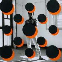 (2014 - 5), C  ollage,  28 x 28 cm, Paper, Acrylic on Film