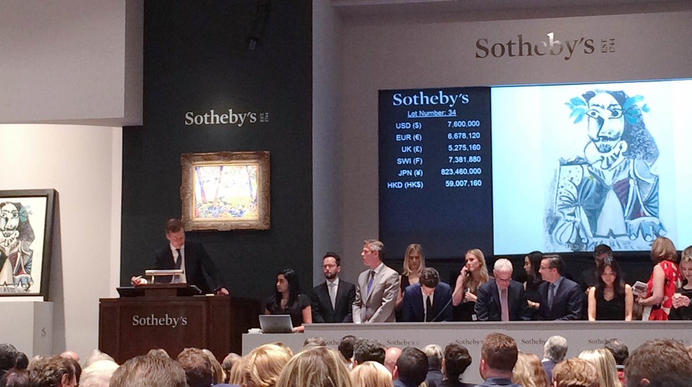 Photo, Courtesy of Sharon Obuobi, Sotheby's Auction, New Yor