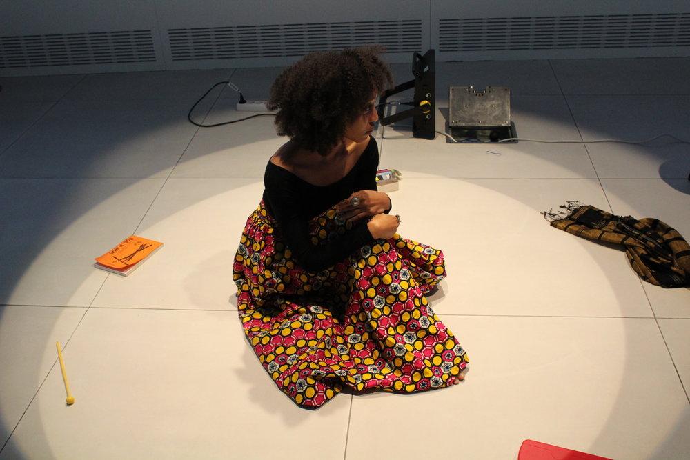 Elisabeth Sutherland at Google Cultural Institute. Copyright Elisabeth Sutherland.