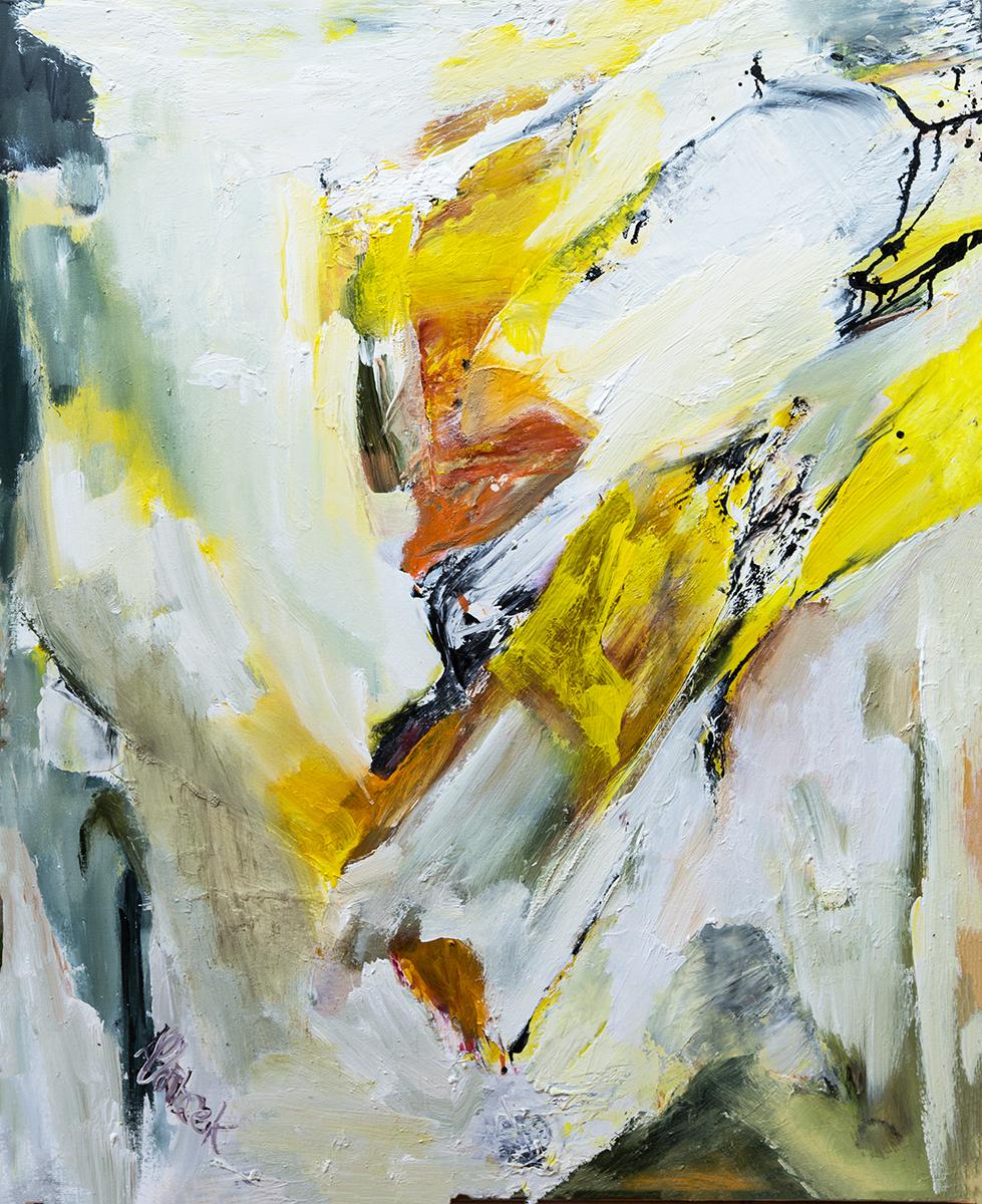 Oilpainting on linen  100 x 81 cm
