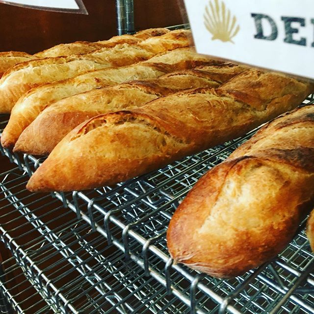 Bread beautiful bread! Two for beautiful one! Happy Sunday! Get yours at the Camino mothership on 4th or just pull right up, zip in, and get yours at Camino Brookstown. Either way it's the same handmade delicious bread and, like every Sunday, it's buy one get one free! #followyourcamino