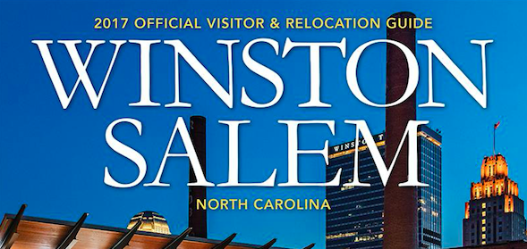 Featured in 2017 Winston-Salem Downtown guide