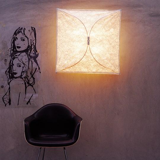 FLOS Ariette 1 Sopii seinä -tai kattovalaismeksi, 80x80 I 4x E27 I€226