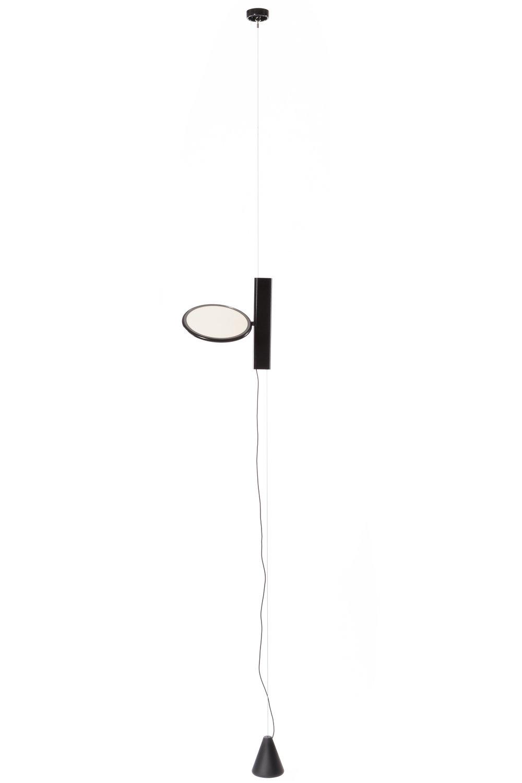 FLOS OK   Lattian ja katon väliin kiinnitettävä valaisin I runko teräsvaijeria I 400 cm, Led 18W Ø20cm I €566