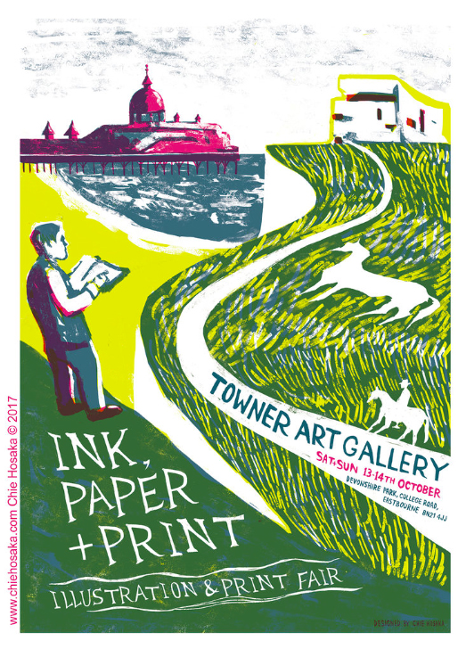 Ink, Paper + Print Illustration & Print Fair