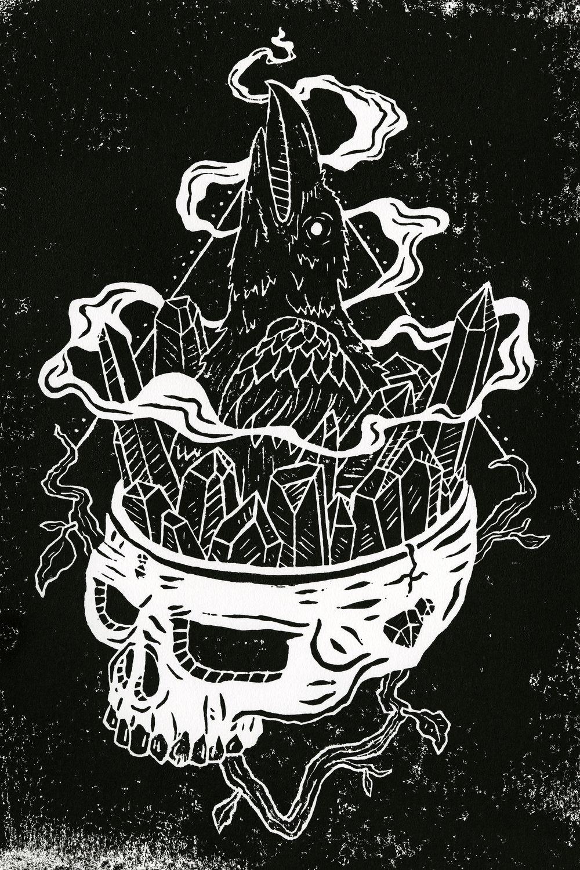 © Sara Jabbari - Raven of the Crystal Skull