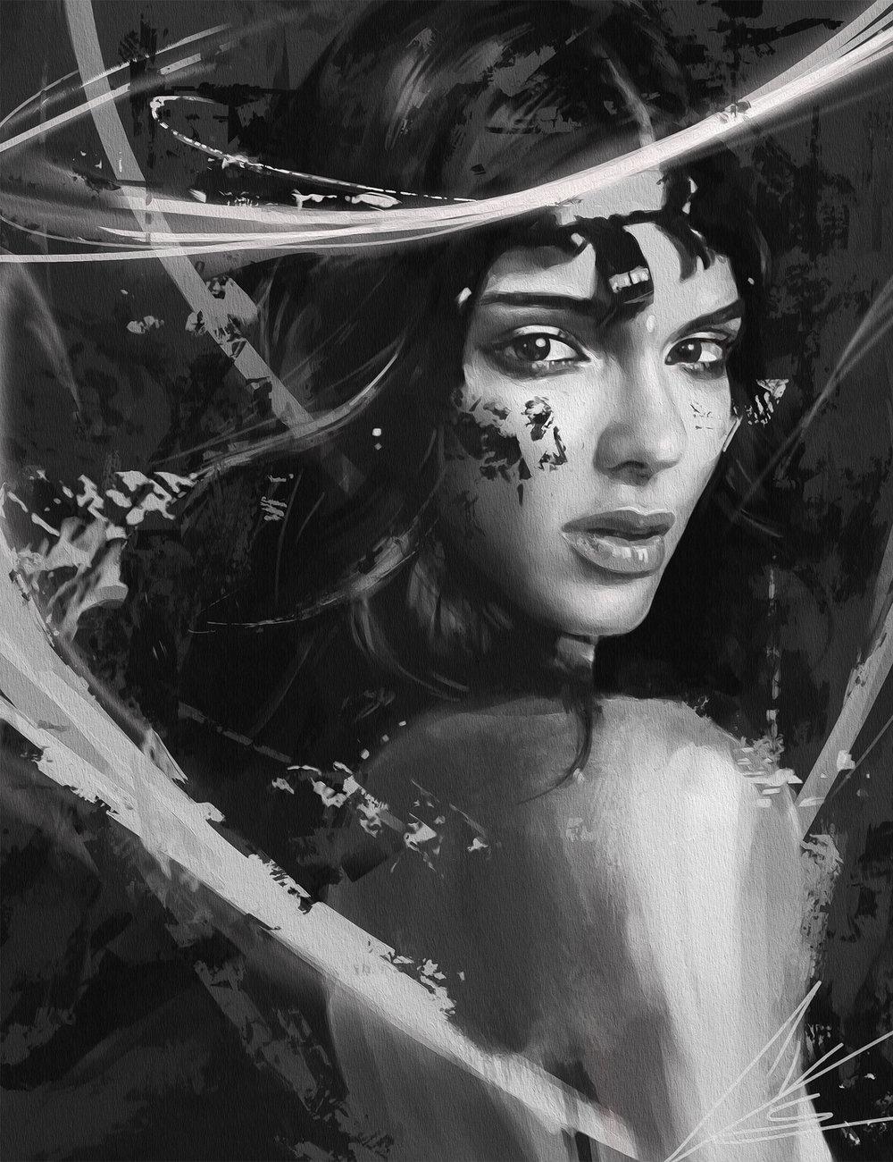 Kendall Jenner - © Temarius Walker