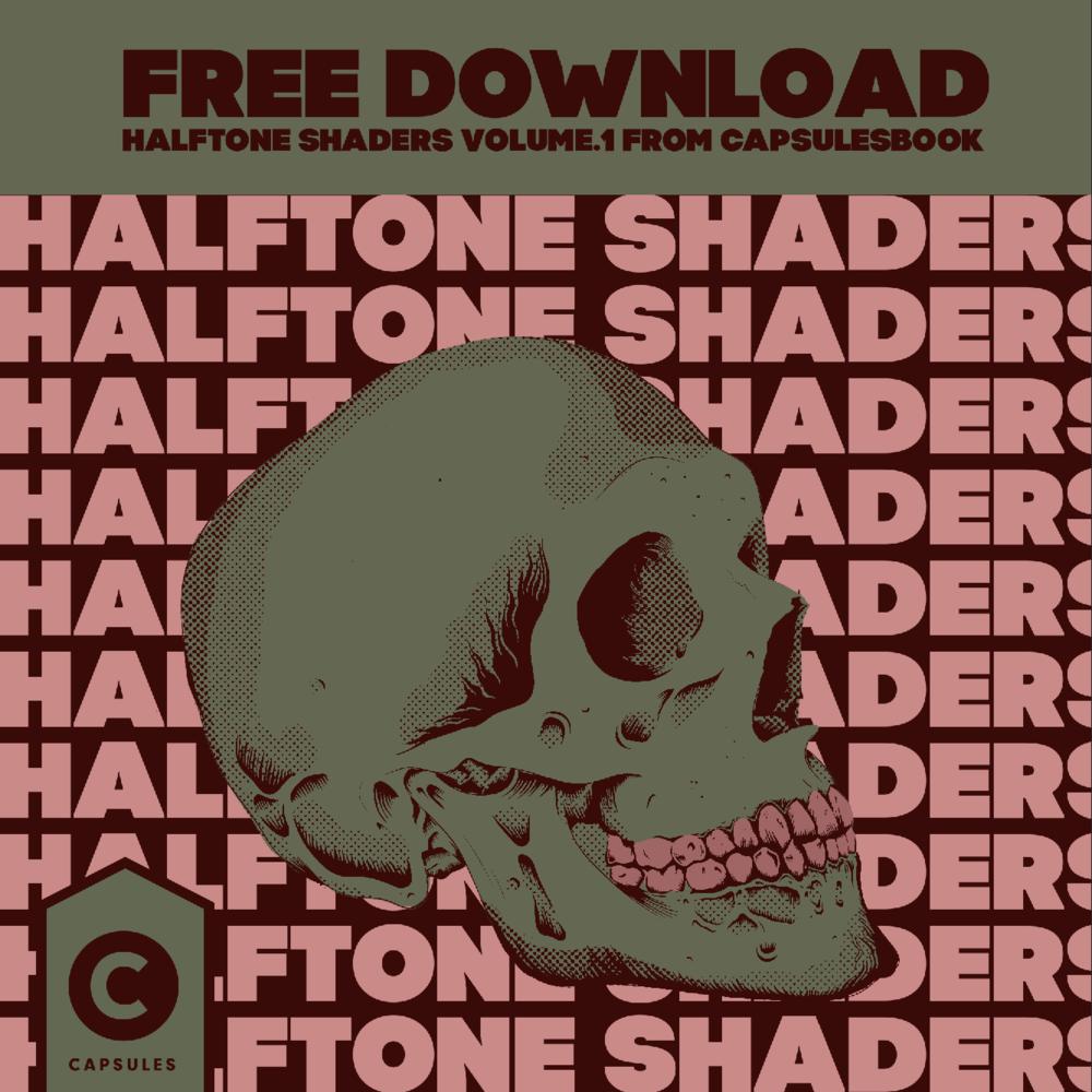 Free Halftone Shaders — Capsules Book
