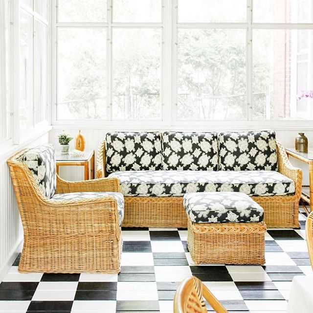 We are back in the studio after a lovely relaxing break #statement #upholstery #rattanfurniture #classicstyle #details #whatwelove #patternplay #interiordesign #interiordecorating #interiorinspiration  #brisbaneinteriors  #brisbanebusiness  #sohointeriors 📸 @dominomag