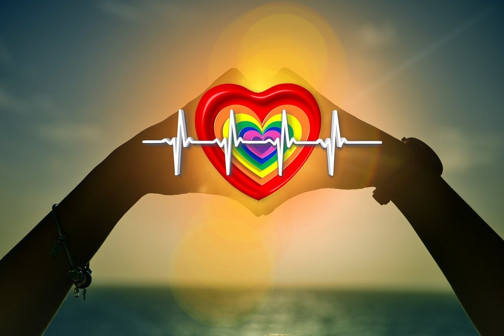Yoga, goed voor hart en bloedvaten.