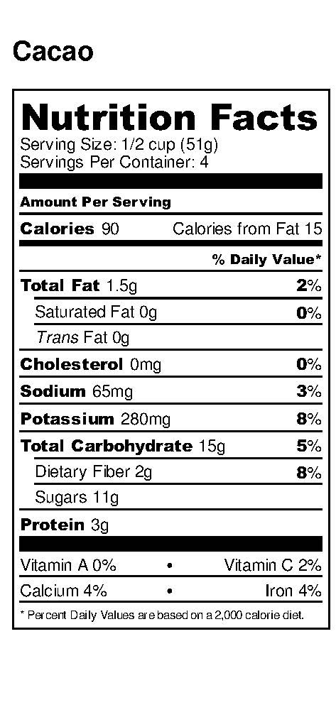 Cacao - Nutrition Label_2.2018.jpg