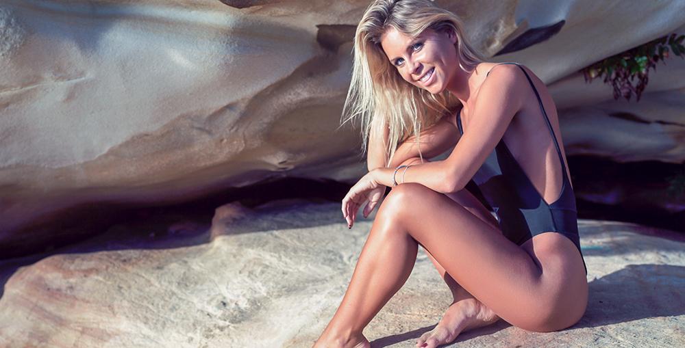 Bianca Wilshin Beach Babe &Entrepreneur The Hessian Collection