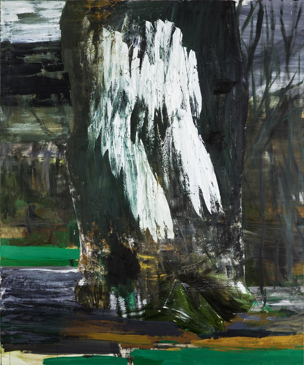 Andreas Eriksson  Baum  2010 Oil on canvas 180 x 150 cm