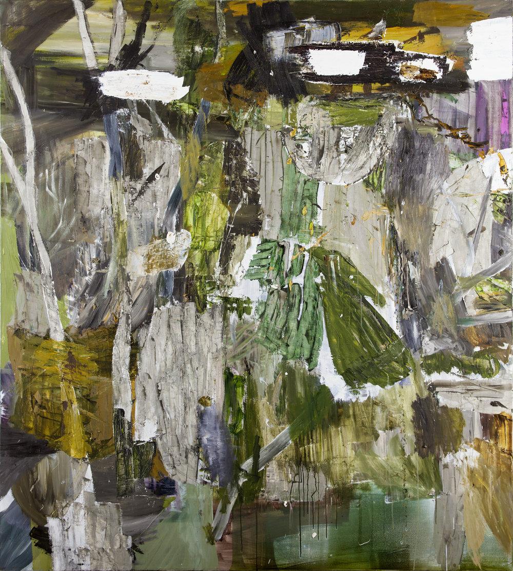 Andreas Eriksson  Utan titel  2005 Oil on canvas 200 x 180 cm