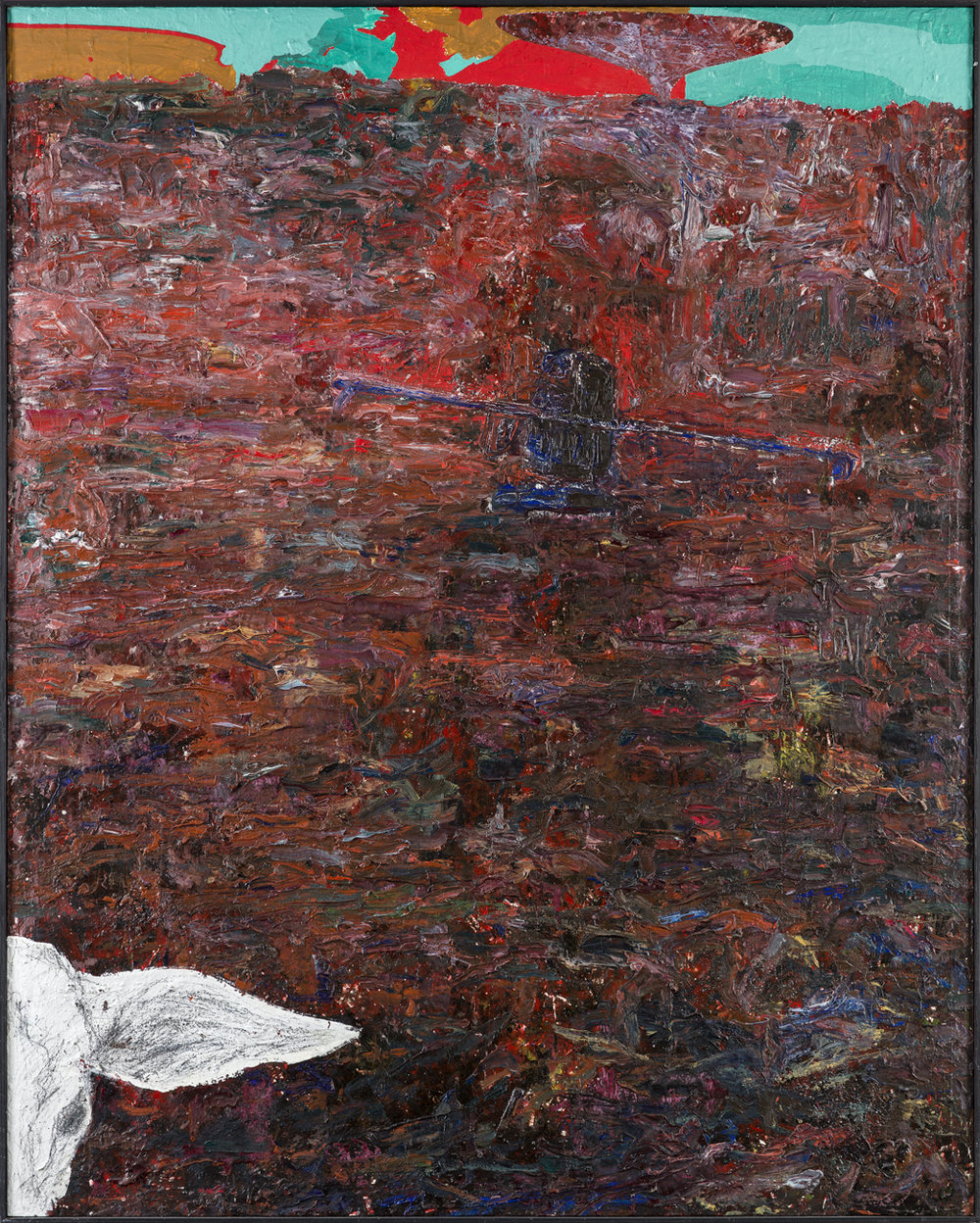 Max Mikael Book  Porovia  1986-87 Oil on canvas 150 x 120 cm