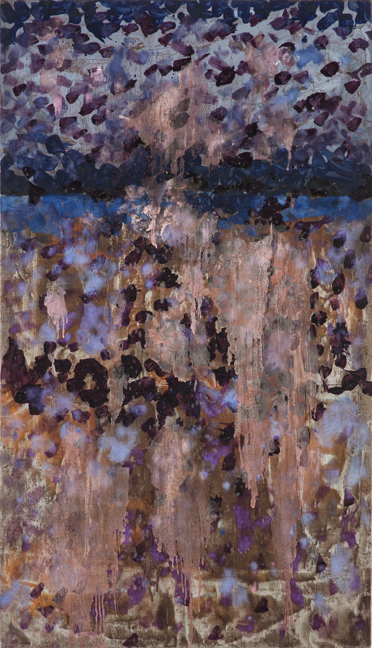 Stig Sjölund  Utan titel  1981 Oil on canvas 100 x 59,5 cm