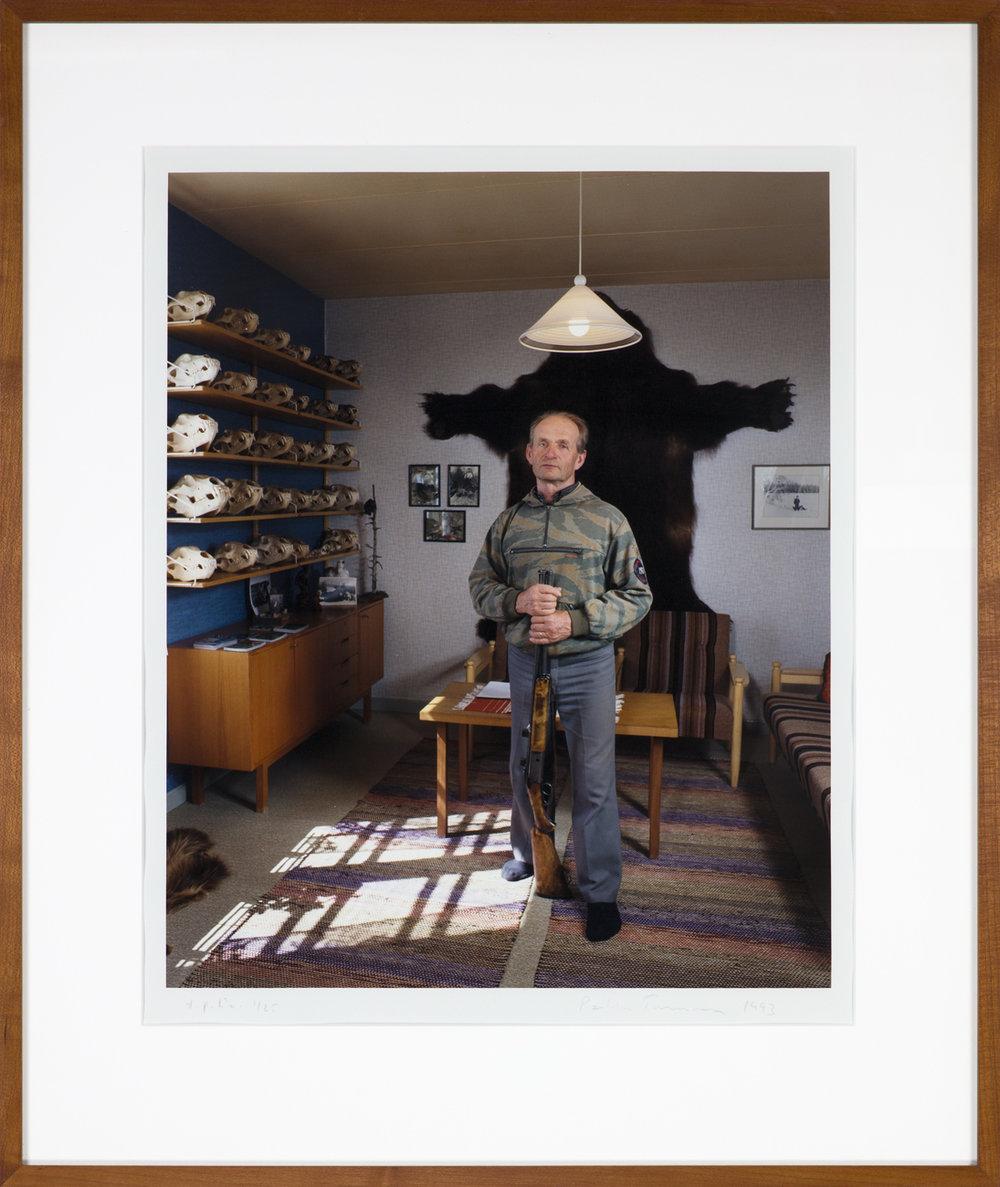 Pekka Turunen  Björnskallar  1993 C-print, 1/25 45,5 x 37 cm