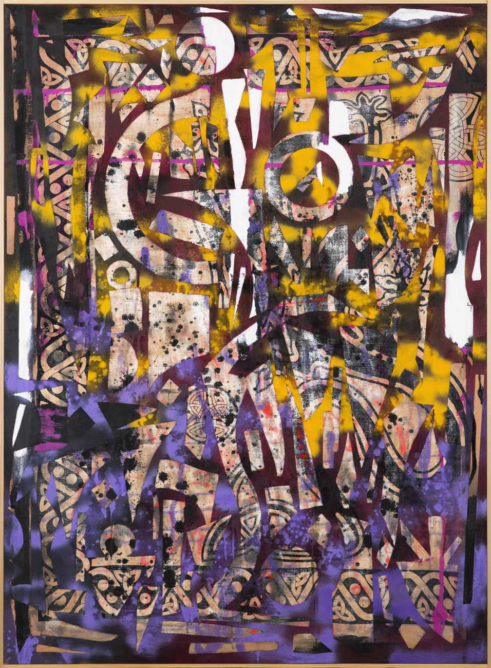 Alfred Boman  Utan titel  2013 Oil on canvas 142 x 102 cm