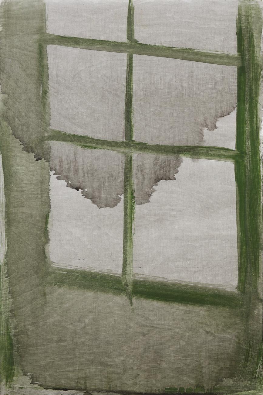Andreas Eriksson  Fönster 2  2010 Acrylic on panel 75 x 50 cm