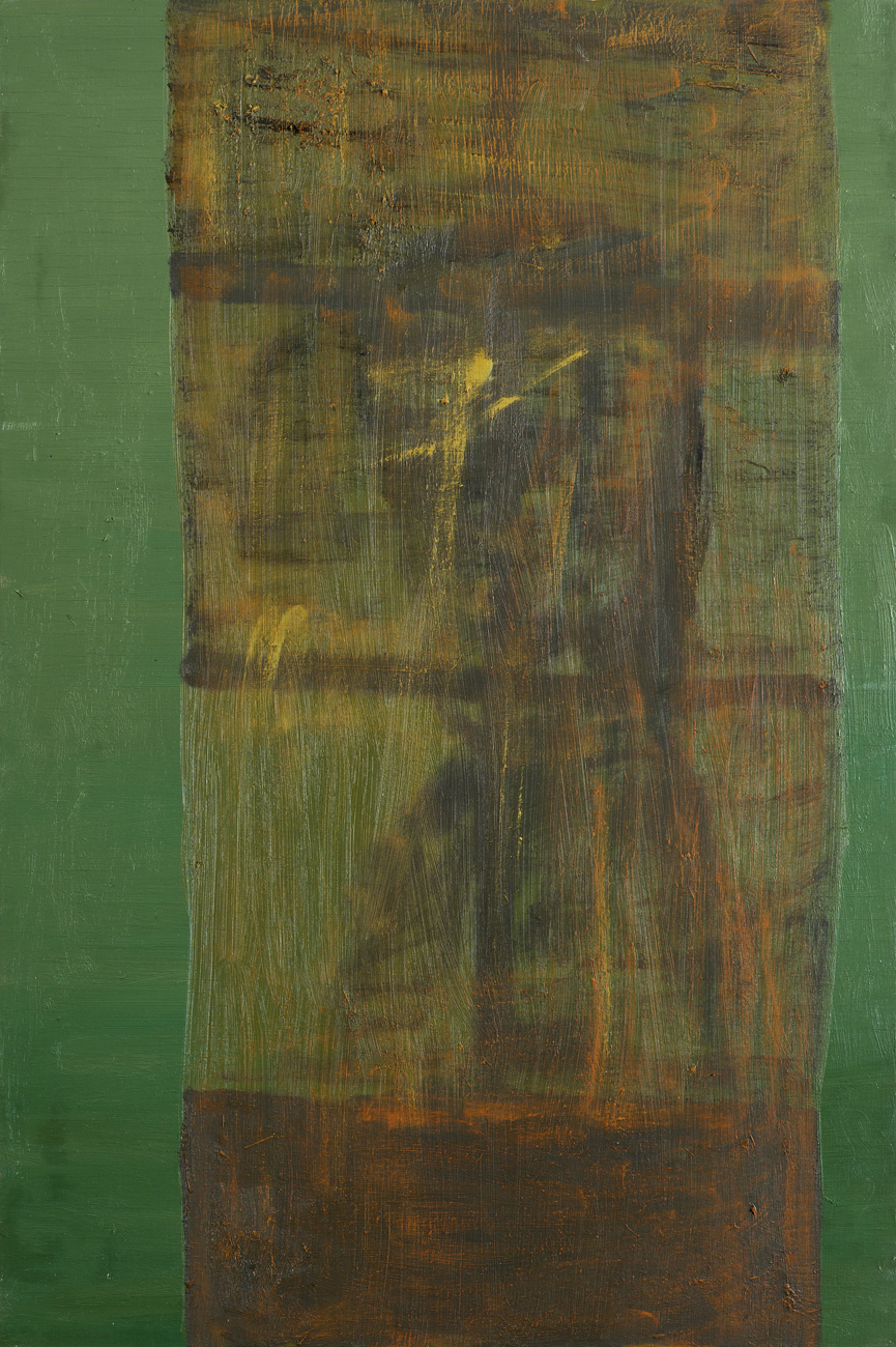 Andreas Eriksson  Fönster 3  2010 Oil on panel 75 x 50 cm