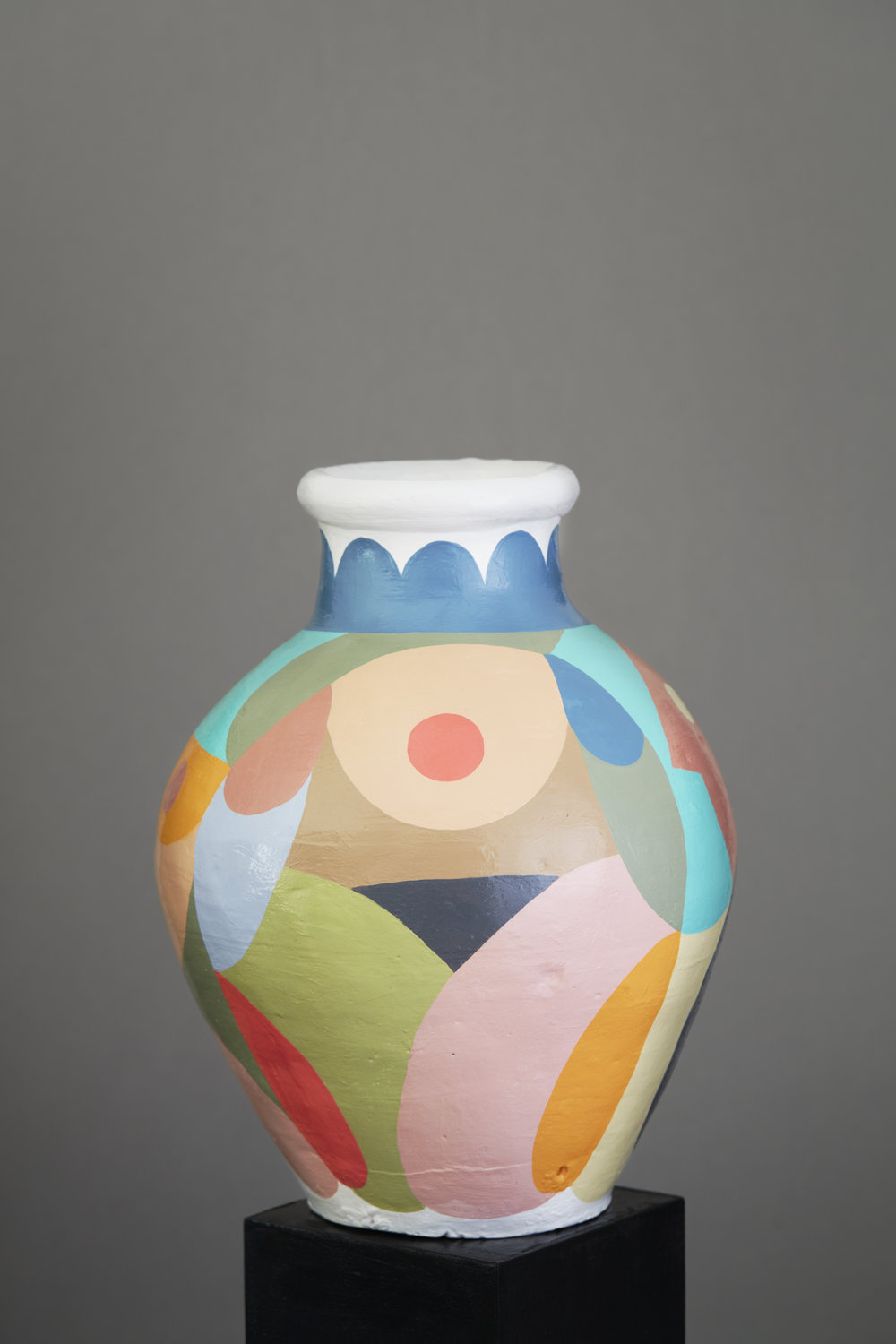 Liselotte Watkins   Scopello  2016 Painted Terracotta 33 x 24 cm