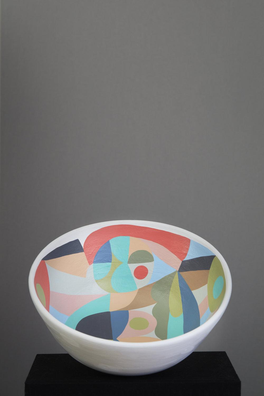 Liselotte Watkins   Lido  2016 Painted Terracotta 36 x 10 cm