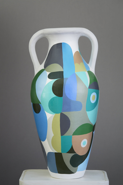 Liselotte Watkins   Dora  2016 Painted Terracotta 58 x 30 cm