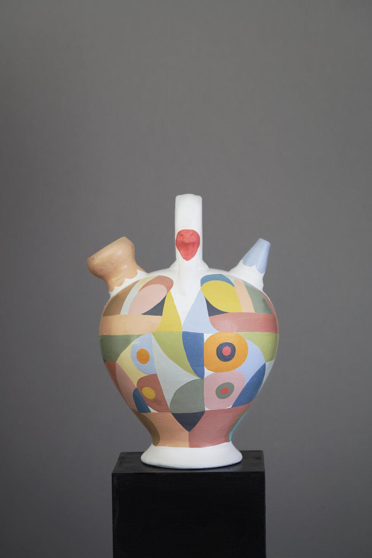 Liselotte Watkins   Gigi  2016 Painted Terracotta 30 x 22 cm