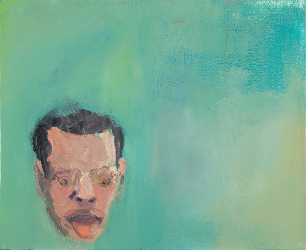 Steve Locke   The Weight  2009-2011 Oil on linen 53,34 x 68,58 cm