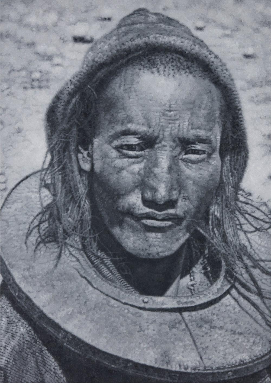 Tomas Lundgren   Schaefer Expedition (2)  2016 Oil on canvas 130 x 92 cm