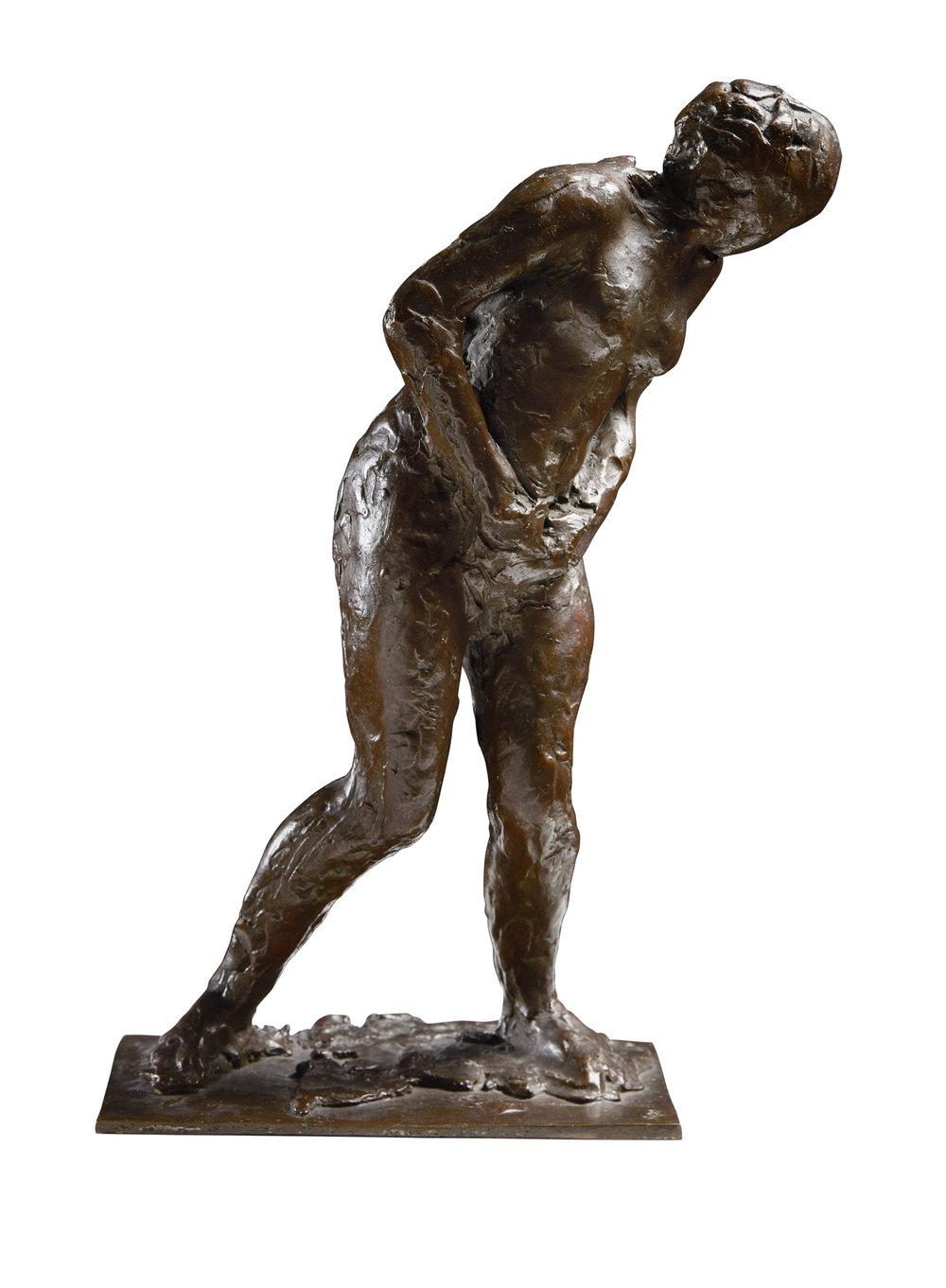 Edgar Degas   Femme surprise   1896-1911 Bronze Height 40,6 cm