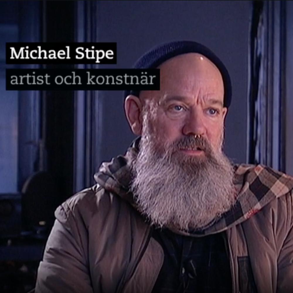 Michael Stipe gör videokonst om mentorn John Giorno | SVT, Kulturnyheterna December 7, 2016