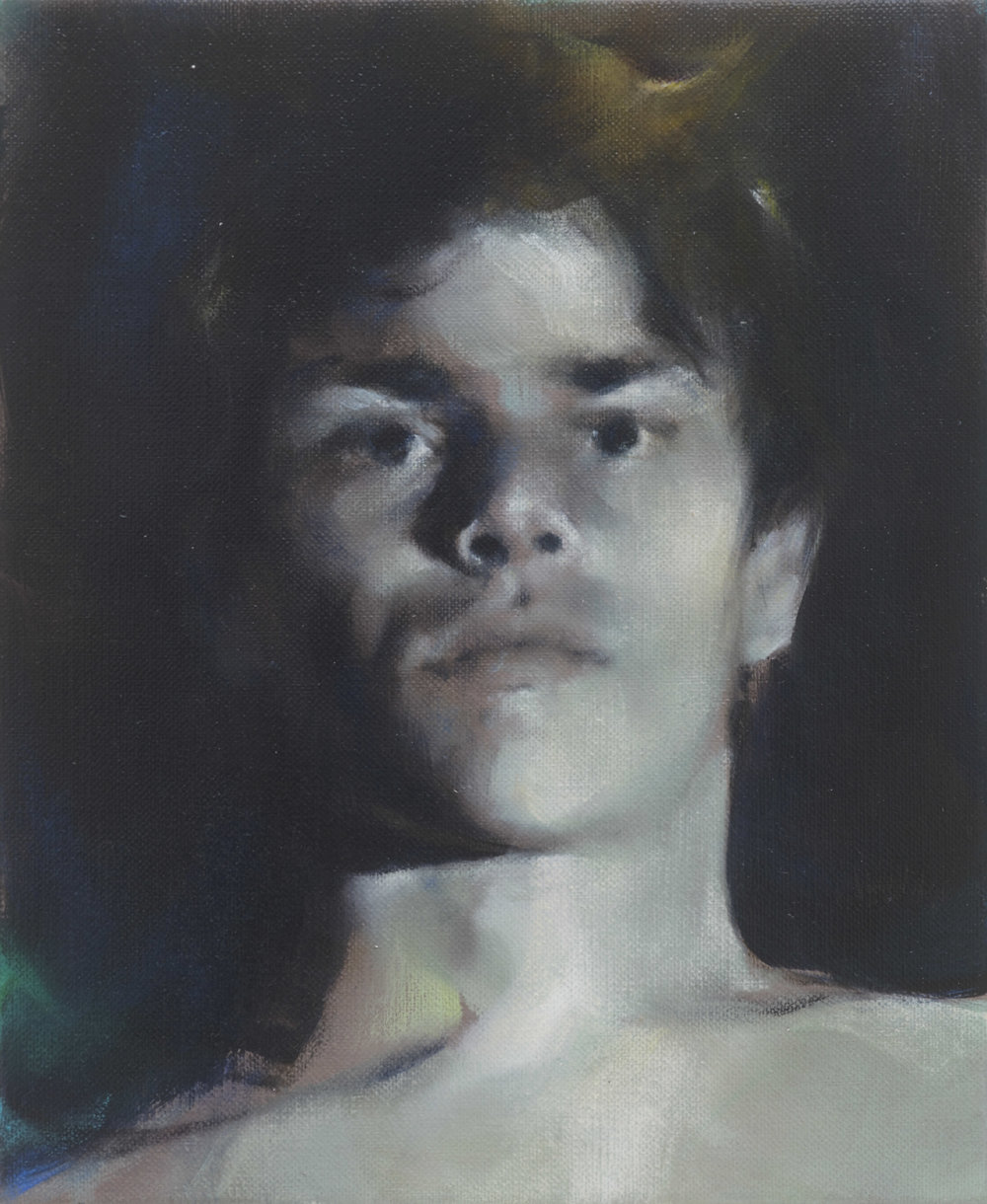 Paul P   Untitled  2015 Oil on linen 27 x 22 cm