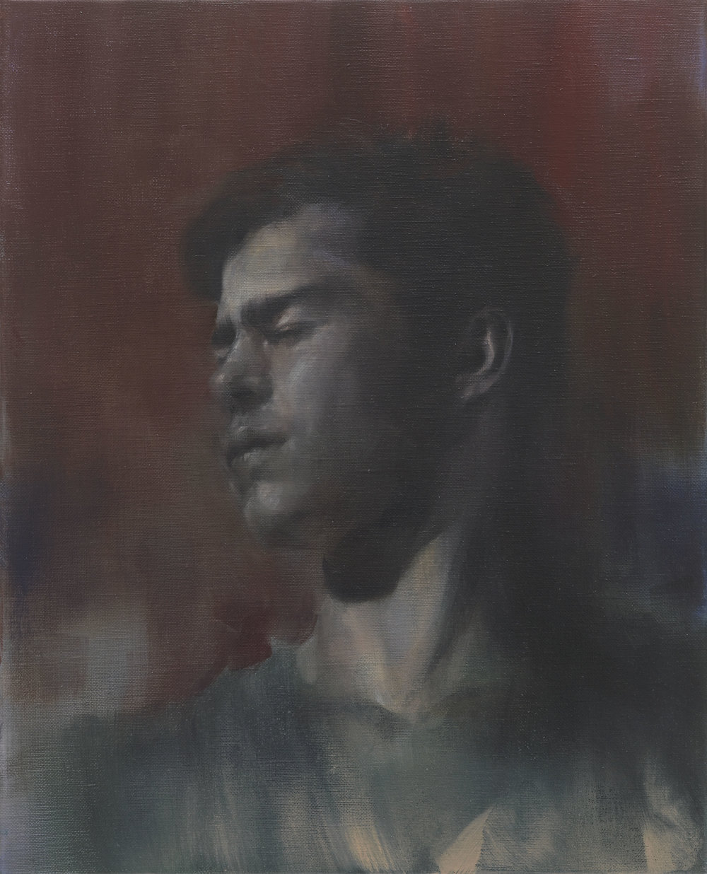 Paul P   Untitled  2014 Oil on linen 41 x 33 cm