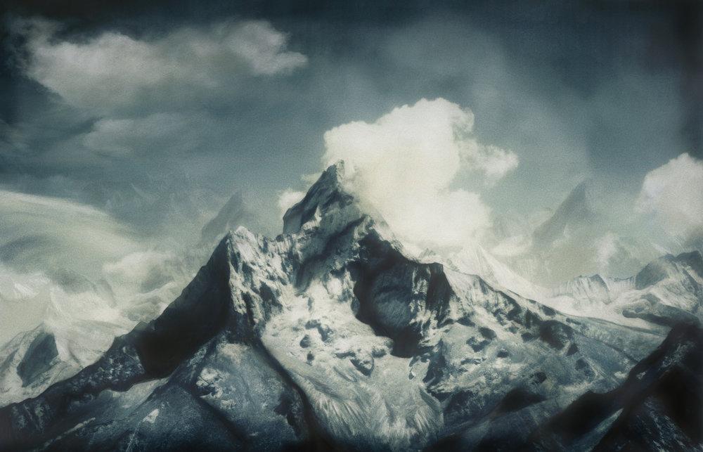 Jacob Felländer   Silver Bracelet  Ama Dablam, Himalaya, 2016 Archival Pigment Print 110 x 170 cm Edition 3+1
