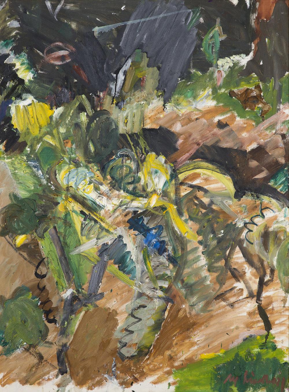 Alf Lindberg   Fruktträd  1984 Oil on canvas 102 x 76 cm