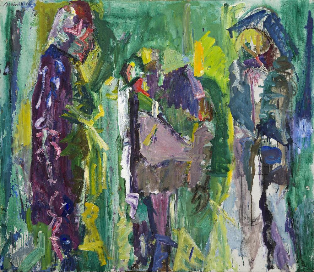 Alf Lindberg   Intermezzo  Oil on canvas 116 x 136 cm
