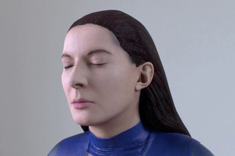 Marina Abramovic at Acute Art, Autumn 2017