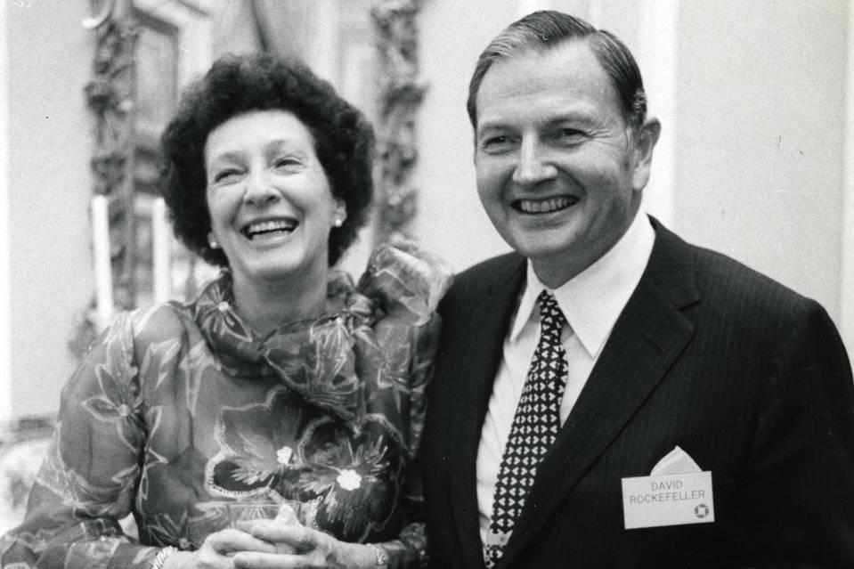 Peggy and David Rockefeller, May 1973. Photo: Arthur Lavine/Rockefeller Estate