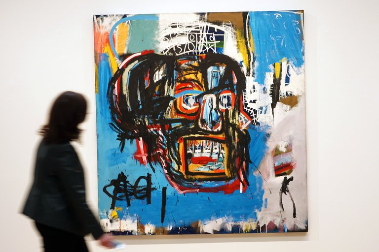 Record breaking: Jean Michel Basquiat, Untitled, sold at Sothebys in May 2017, $110m