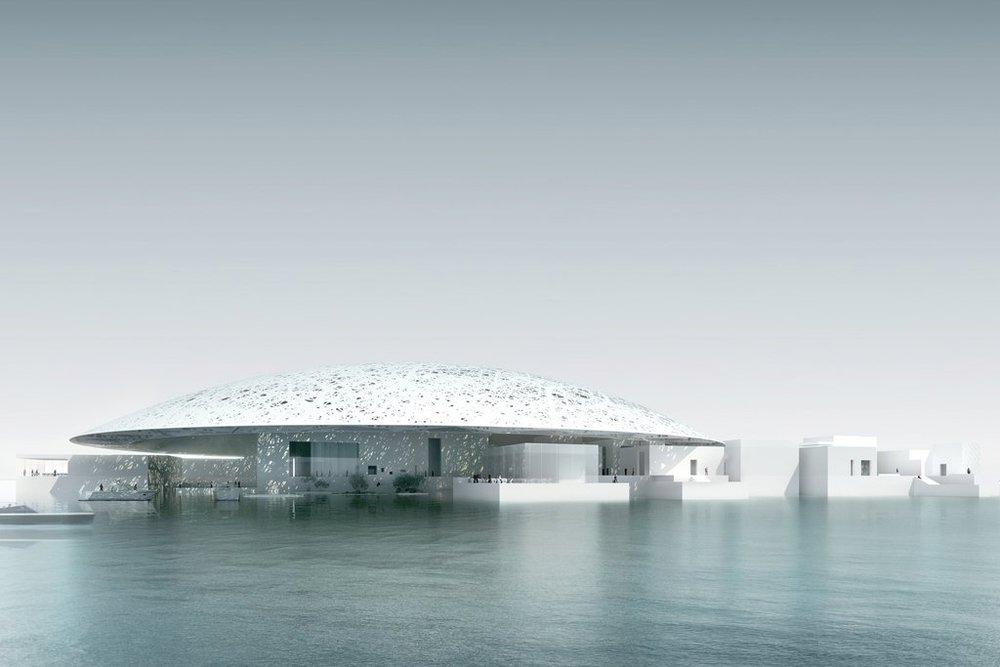 Louvre, Abu Dhabi, architect Jean Nouvel, inaugurated Nov 2017