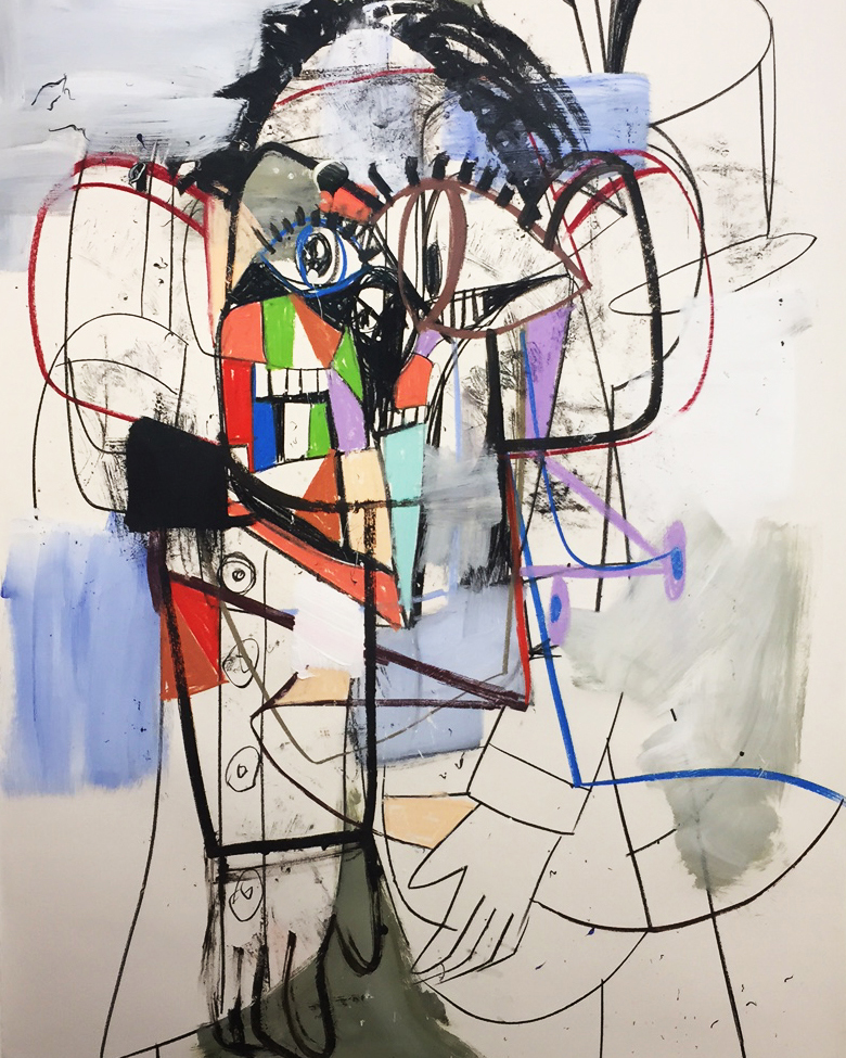 Skarstedt: George Condo, On the Corner, 2017