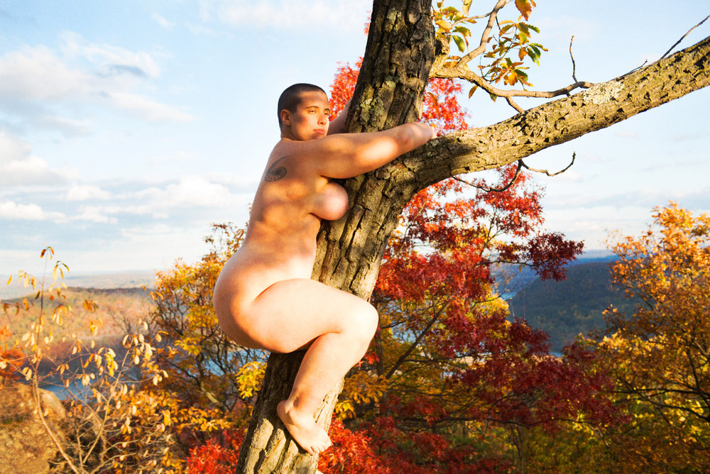 Ryan McGinley   Tree Hugger  2017 C-print Edition of 3 40 x 60 cm