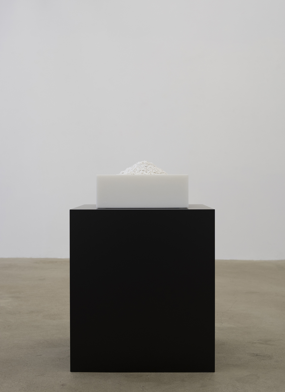 Anders Krisár   Untitled #2  2017 Marble Edition of 3 + 2 AP 39,5 × 39,5 × 20,5 cm