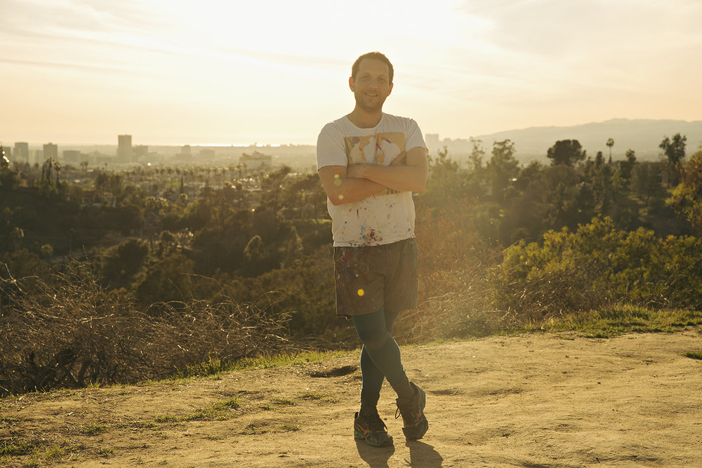Joshua Nathanson in L.A., 2018. Photo: Daniel Sahlberg.