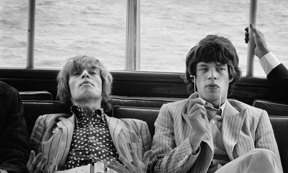 Linda McCartney. Brian Jones and Mick Jagger, New York, 1966. Fibre Based Print. Edition of 16 and 2 APs
